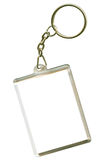 Keychain. As a frame with space for text or illustrations Stock Photo