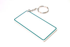 Keychain  as a frame Royalty Free Stock Image