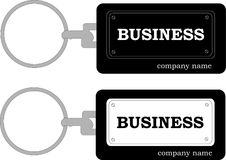 Keychain business Royalty Free Stock Photos