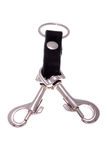 Keychain with clips Stock Images