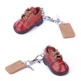 Keychain de chaussure Image libre de droits