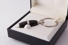Keychain de luxe de poinçon de cigare Image stock