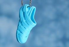Keychain del sandalo Fotografie Stock
