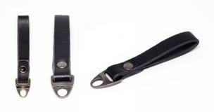 Keychain en cuir Images libres de droits