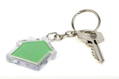 Keychain with figure Royalty Free Stock Images
