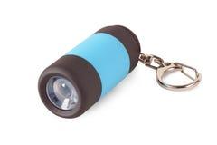 Keychain with flashlight Royalty Free Stock Photos