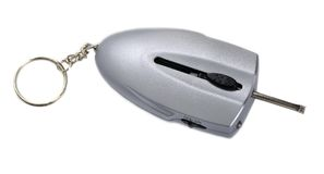 Keychain with the function of defrosting locks Royalty Free Stock Image