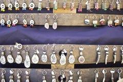 Keychain Handcrafted Fotografia Stock