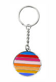 Keychain isolated on white Royalty Free Stock Photos