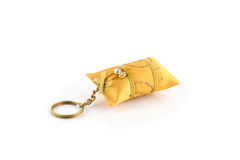 Keychain isolated on white Royalty Free Stock Photo