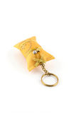 Keychain isolated on white Stock Image