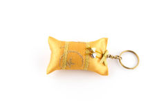Keychain isolated on white Stock Photo