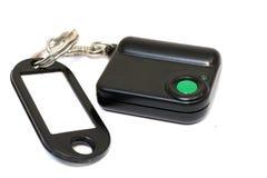 Keychain met knoop voor het roepen van veiligheid Knoop voor snelle mobiele hulp Stock Afbeeldingen
