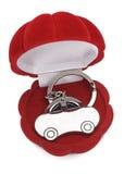 Keychain samochód Zdjęcia Royalty Free