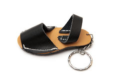 Keychain with slipper Royalty Free Stock Photos