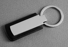 Keychain with space for text or logo. Royalty Free Stock Image