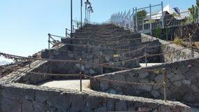Keychain staket på Puerto del Spårvagnsförare royaltyfria bilder