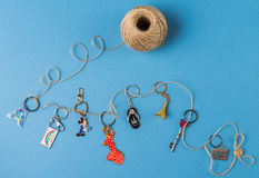 Keychains Royalty Free Stock Photos