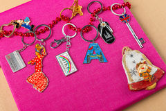 Keychains Royalty Free Stock Photography