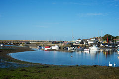 Keyhaven Hampshire UK Royalty Free Stock Photography