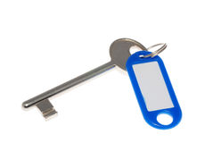 Keyholder with key Royalty Free Stock Photo