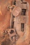 Keyhole и замки Стоковые Изображения