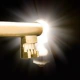 ключевой keyhole Стоковые Фото