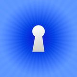 Keyhole Royalty Free Stock Photography