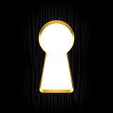 Keyhole Fotografia Stock