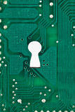 keyhole background Stock Photography