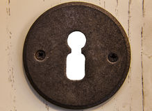 Keyhole door bright Stock Images