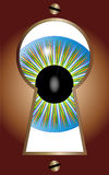 Keyhole Eye Stock Photography