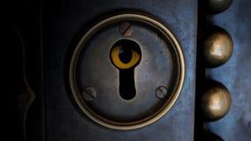 Keyhole stock footage