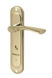 keyhole för dörrhandtag Fotografering för Bildbyråer