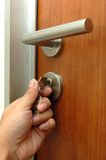 Keyhole gate Royalty Free Stock Images