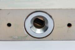 Keyhole na ochraniacza kędziorku Obrazy Royalty Free
