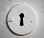 Keyhole. Royalty Free Stock Photos