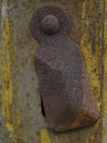 Keyhole rusty Stock Images
