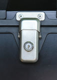 Keyhole security lock Royalty Free Stock Photo