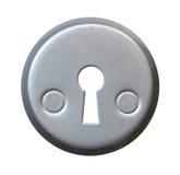 Keyhole on white background. Stock Images