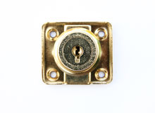 Keyhole  on white background Stock Photo