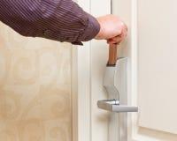 Keyless dörrtillträde Royaltyfria Foton