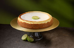 Keylime Cheesecake royalty free stock image