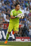 Keylor Navas do Real Madrid Imagem de Stock Royalty Free