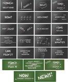 Keynote presentation material Stock Image