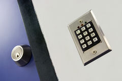 Keypad. For access control to a restricted area Royalty Free Stock Photos