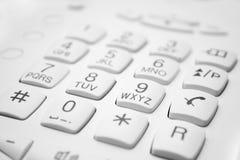 Keypad. Phone keypad buttons communications telephone Royalty Free Stock Photo