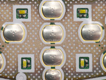 Keypad. Inside view on a mobile phone keypad Stock Images
