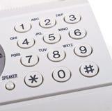 Keypad. Fax machine keypad on a white background Stock Photo