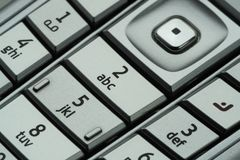The Keypad 2 Royalty Free Stock Image